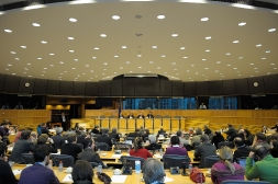 En session au Parlement europen  Bruxelles